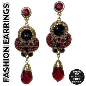 FASHION Costume Boho Dangle Earrings (O/S)